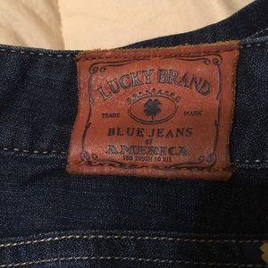 Lucky Brand Jeans Dark Wash Lola Boot 10/30